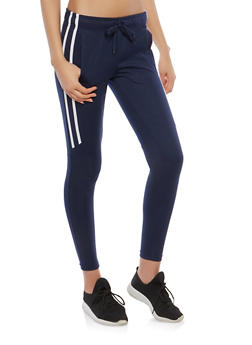 Side Stripe Joggers - 1407072290228