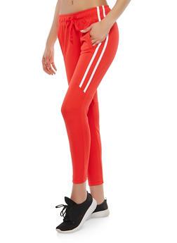 Side Stripe Joggers - 1407072290228