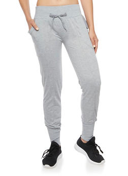 Slim Joggers with Center Pleat - 1407072297012