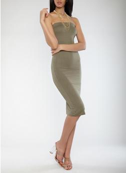 Mid Length Tube Dress - 1410062700001