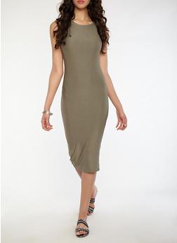Knit Bodycon Dress - 1410062701003