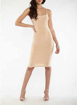 Midi Bodycon Dress - 1410062701820