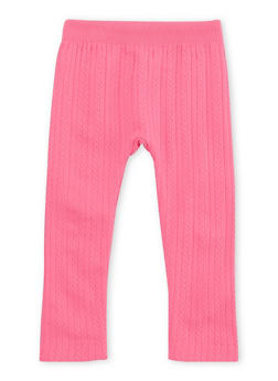 Toddler Girls Leggings with Fleece Lining - 1501061958762