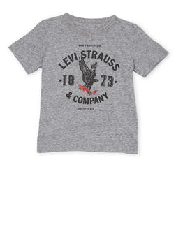 Toddler Boys Levis T Shirt with Eagle Logo Graphic - 1504070341170