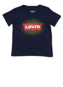 Toddler Boys Levis Tee with Logo Graphic - 1504070341172