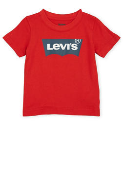 Toddler Boys Levis Logo T Shirt - 1504070341179