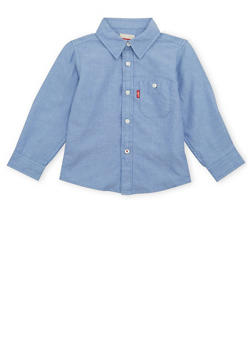Toddler Boys Levis Button Up Shirt With Pocket - 1504070345001