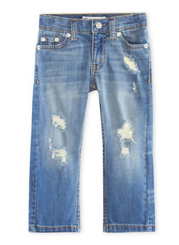 Toddler Boys Levis 511 Slim Distressed Jeans - 1526070345190