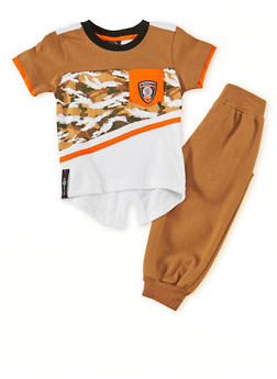 Baby Boy Enyce Graphic Tee and Joggers Set - 1550054732242