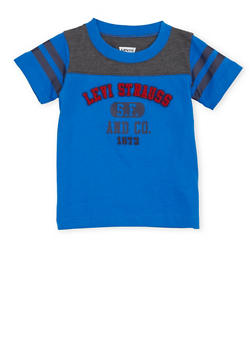 Baby Boy Levis T Shirt with 3D Logo Design - 1562070344001