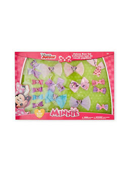Toddler Girls Minnie Mouse Deluxe Bow Set - 1590050540002