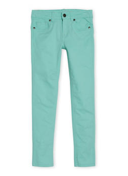 Girls 7-16 5 Pocket Skinny Jeans - 1602054730007