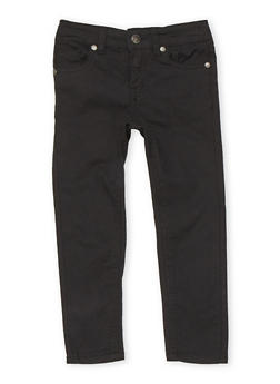 Girls 7-16 Basic Skinny Jeans - 1602054730009
