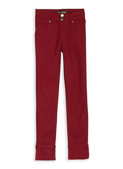 Girls 7-16 Hyperstretch Wide Cuffed Pants - 1602056570041