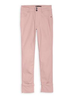Girls 7-16 Hyperstretch Wide Cuffed Pants - 1602056570041