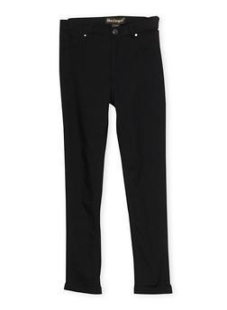 Girls 7-16 Stretch Skinny Pants - 1602056577020