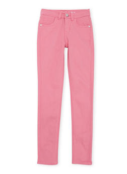 Girls 7-16 Limited Too Pink Skinny Jeans - 1602060990001