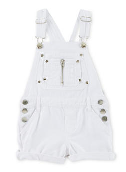 Girls 4-6x Denim Overalls - 1620038340042