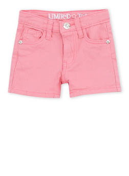 Girls 4-6x Limited Too Pink Shorts - 1620060990012