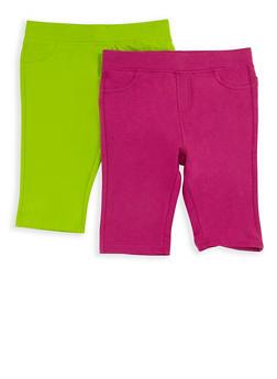 Girls 7-16 Bermuda Shorts Set of 2 - 1621024260001