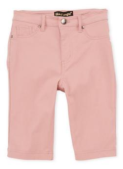 Girls 7-16 Rose Bermuda Shorts - 1621056570015