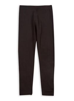Girls 4-6x Soft Knit Black Leggings - 1622060580002