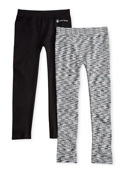 Girls 7-16 2 Pack of Activewear Leggings - 1623023260001