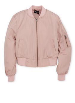 Girls 4-6x Bomber Jacket - 1626051060503