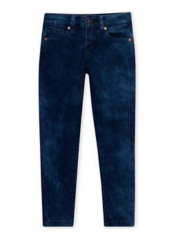 Girls 4-6x Cloud Wash Skinny Jeans - 1628056720003