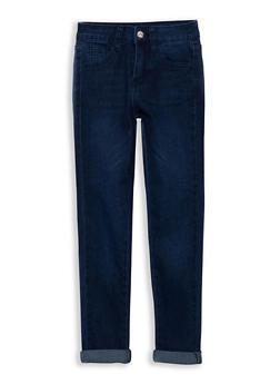 Girls 7-16 Cuffed Skinny Jeans - 1629056720006