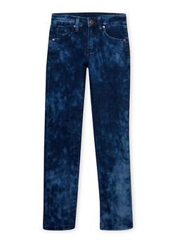 Girls 7-16 Cloud Wash Skinny Jeans - 1629056720388