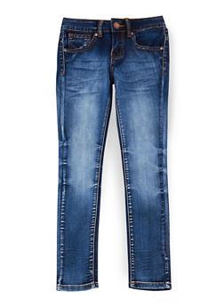 Girls 7-16 VIP Dark Whisker Wash Jeans - 1629065300065