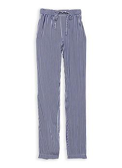 Girls 7-16 Stripe Pants - 1631051060002