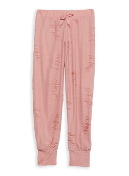 Girls 7-16 Distressed Joggers - 1631063400047