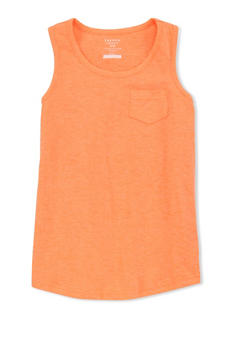 Girls 4-6x French Toast Sleeveless Scoop Neck Tank Top - 1632068323319