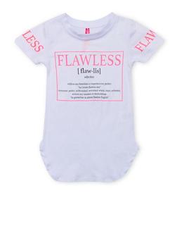 Girls 4-6x Flawless Graphic T Shirt - 1634066590111