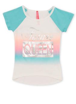 Girls 4-6X Future Queen Graphic T Shirt - 1634066590141