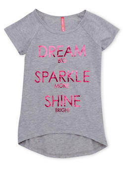 Girls 7-16 Tee with Dream Big Graphic - 1635066590031