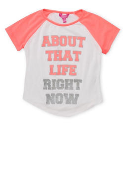 Girls 7-16 About That Life Graphic T Shirt - 1635072170441