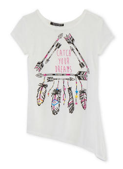 Girls 7-16 Catch Your Dreams Printed T Shirt - 1635072174024
