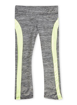 Girls 7-16 Space Dye Active Capri Leggings - 1639038340001