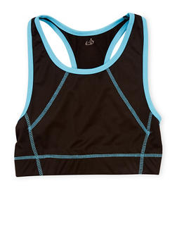 Girls 7-16 Racerback  Sports Bra - 1639038340011