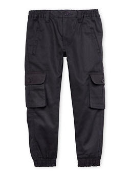 Boys 4-7 Cargo Joggers with Welt Pockets - 1701054730001