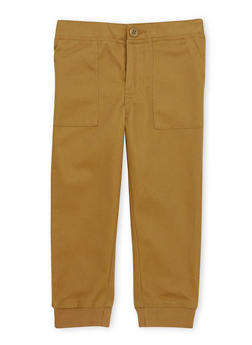 Boys 4-7 French Toast Twill Jogger Pants - 1701068320010