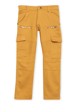 Boys 8-18 Moto Jeans with Cargo Pockets - 1702063370001