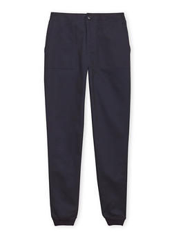 Boys 8-16 French Toast Twill Joggers - 1702068320003