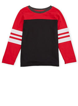 Boys 4-7 French Toast Long Sleeve Football Tee - 1703068320002