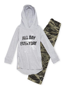 Boys 4-7 Graphic Hoodie and Jeans Set - 1705071950001