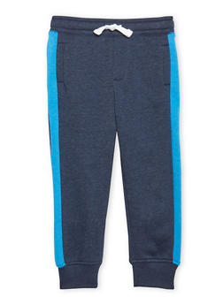 Boys 4-7 French Toast Striped Fleece Jogger Pant - 1706068320002