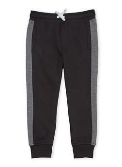 Boys 4-7 French Toast Joggers in Fleece - 1706068320007